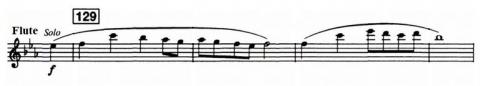 Flute-solo